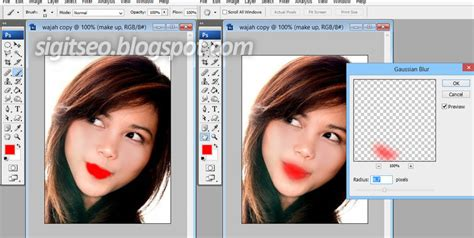 tutorial photoshop cs5 cara memutihkan wajah cara menghaluskan wajah dan menghilangkan jerawat dengan