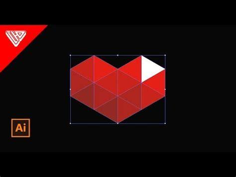 membuat logo gaming membuat logo lowpoly youtube gaming di adobe illustrator