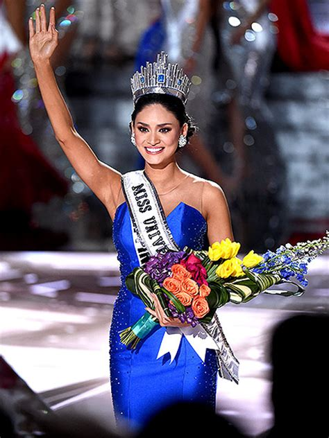 winner of miss universe 2016 miss universe pia wurtzbach has no hard feelings towards