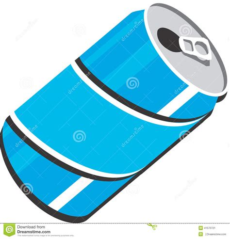 eps format is used for soda can vector clipart design illustration stock vector