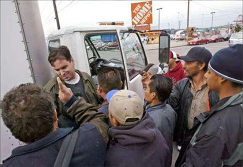 tensions rise in sodo as day laborers crowd sidewalks