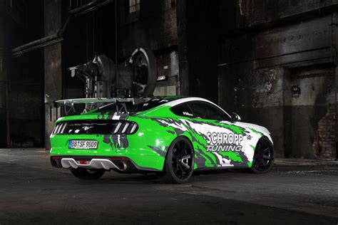 tuned mustang official 807hp ford mustang sf600r by schropp tuning