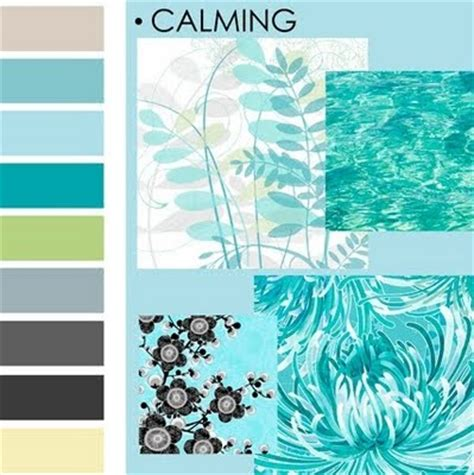 soothing blue color calming color palette lovely i want this over the