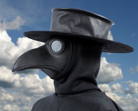 How To Make A Plague Doctor Mask With Paper Mache - plague doctor masks tom banwell designs