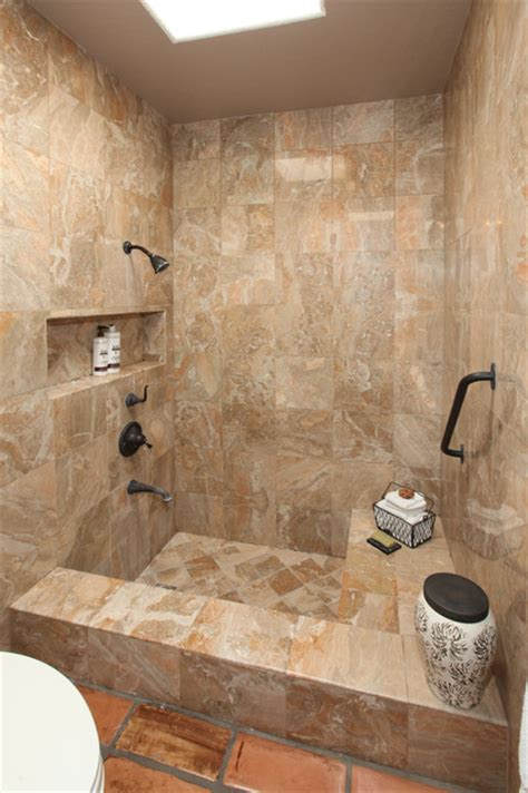 small soaking tub shower combo bathrooms