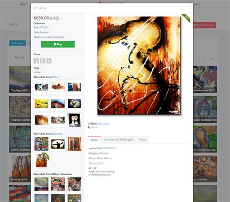 Selling Your Own Artwork by Create Your Own Art Gallery And Sell Your Paintings