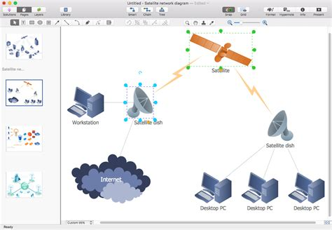 network layout ppt create presentation from a network diagram conceptdraw