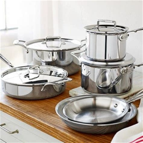 all clad electric induction burner all clad d5 stainless steel 10 set williamssonoma will work on induction cooktop for