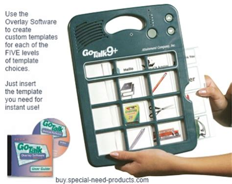 go talk 9 augmentative communication device