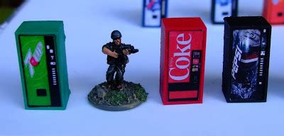 The Angry Lurker 15mm Or Ho Scale Modern Vending Machines