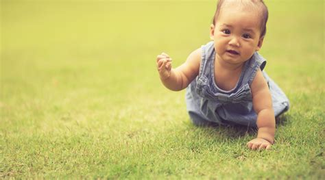 how to a to crawl when do babies crawl