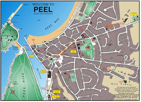 town map peel town map