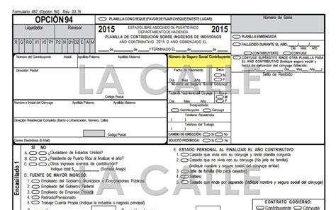 formulario planilla de contribucion 2015 download pdf planillas 2015 puerto rico planillas puerto rico 2015