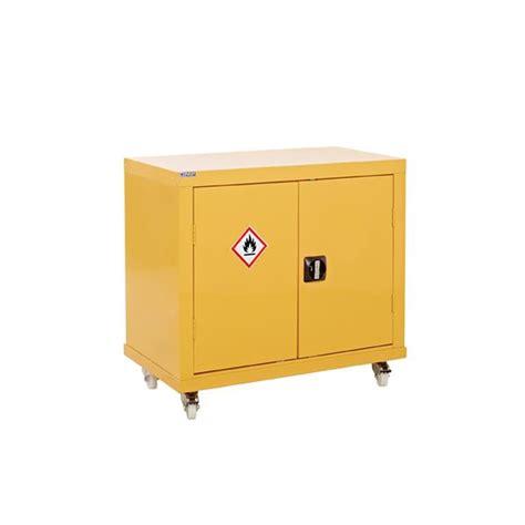 Chemical Storage Cabinets Mobile Hazardous Substance Storage Cabinet Aj Products