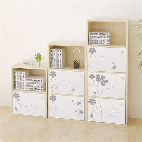 hui roca printing free combination bookcase with doors
