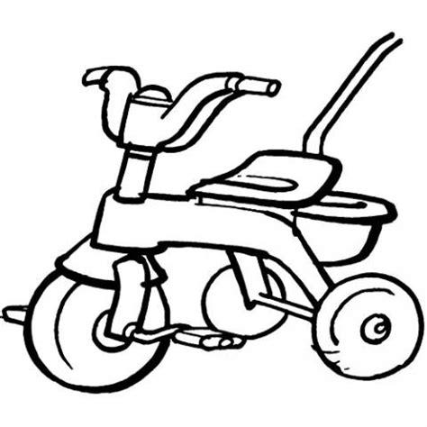 imagenes relajantes infantiles imprimir triciclo dibujos para colorear
