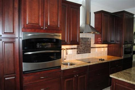 Stained Black Cabinetry