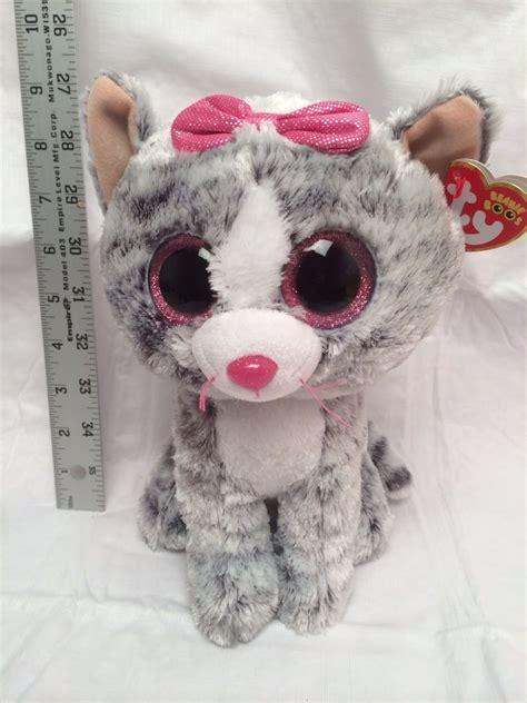 Medium Doll 8 new 2016 the cat medium 8 quot size plush beanie boos doll ty ebay