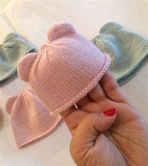 simple baby hat knitting pattern circular needles 17 best ideas about children s knitted hats on