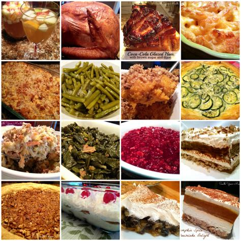 south your mouth southern thanksgiving recipes
