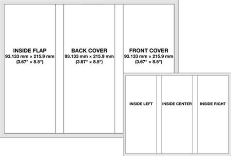 brochure layout measurements brochure dimensions brochure designs pics