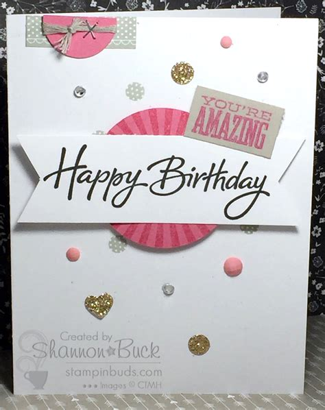 Bling Simple simple birthday bling stin buds with ctmh