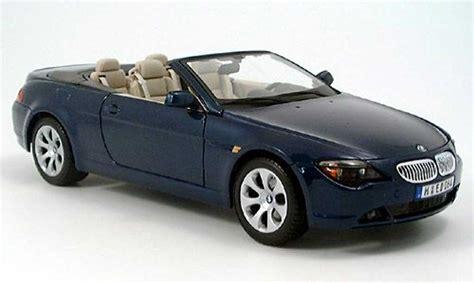 Bmw 645 ci cabriolet azul 2004 Maisto coches miniaturas 1/18 Comprar/Venta coches miniaturas