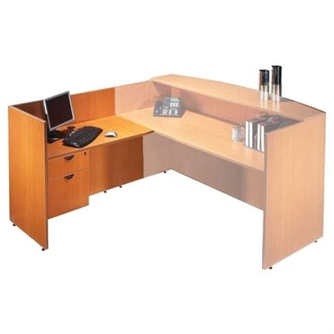 Cherry Reception Desk Offices To Go 42 Quot Return Reception Desk American Cherry Ebay