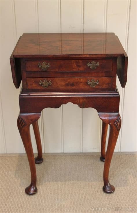 antique drop leaf side table walnut drop leaf side table antiques atlas