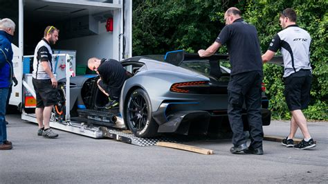 aston martin truck newmotoring a surreal day with the aston martin vulcan