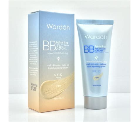Wardah Brightening Cleanser halal cosmetics singapore wardah lightening balm