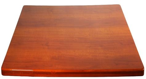 cherry resin 36 x 36 square indoor table top chrs3636