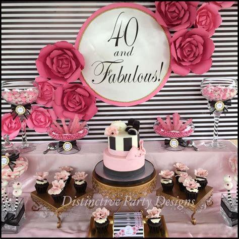 fashion birthday ideas 40th birthday 40