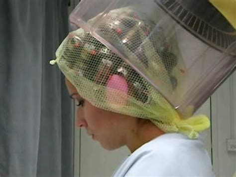 www women in iron rollerset and hairnet com beautiful sevi with her hairnet youtube