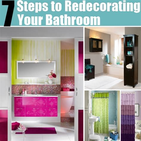redecorating bathroom ideas 7 steps to redecorating your bathroom for 100 total