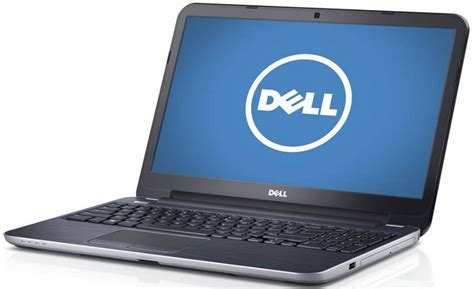 Laptop Dell Mei inspiron 15r 5537 inspiron 15r left angled view