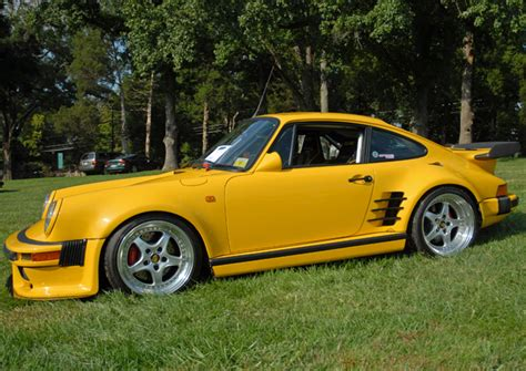 porsche yellow bird porsche 911 ruf ctr yellow bird 1987 performance
