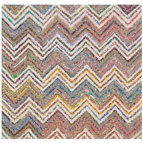 4 ft rug safavieh fiber marble grey 4 ft x 4 ft square