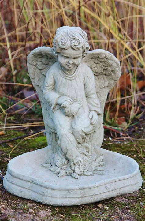 Fontaine Jardin Zen 237 by Bain D Oiseaux Ange Fonte Abreuvoir Fontaine