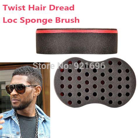 amazon magic twist hair brush sponge 10 mm hole beauty 2pcs lot magic hair twist sponge dreads twisting locks