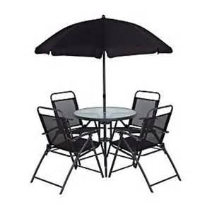 asda cuba patio set 6 garden furniture product