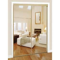 Mirror Bypass Closet Doors Mirrored Closet Doors For Brighter And Wider Interior Goodworksfurniture