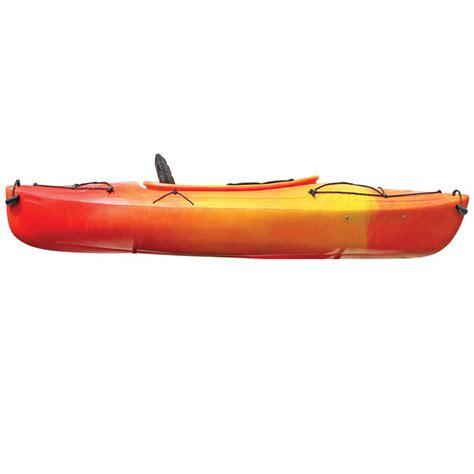 west marine orange west marine saba 9 5 sit inside kayak yellow orange