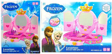 Dresser Playset 80852c Meja Rias Make Up Mainan Anak jual mainan meja rias frozen play set frozen 88022 01 di indonesia katalog or id