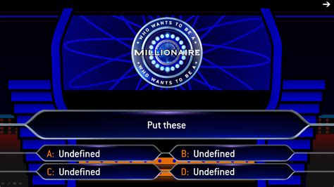 The Gallery For Gt Who Wants To Be A Millionaire Blank Question Template Who Wants To Be A Millionaire Blank Template