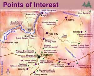 arizona points of interest map explorations
