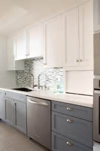 Two Tone Cabinets Kitchen Photos Hgtv