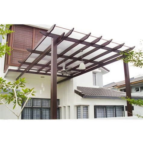 pergola with glass roof outdoor goods