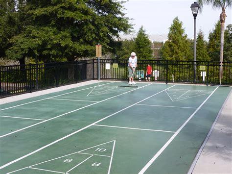 backyard shuffleboard court outdoor shuffleboard court home ideas