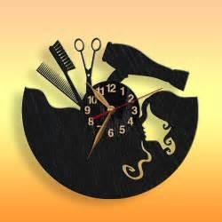 salon hair salon clock black wall clock 11inch28 5